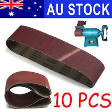 10X 100x914mm 915 Sanding Belt Mixed Grit 40 60 80 100 120 240 400 600 800 1000
