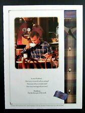 1994 PENDLETON 100% Worsted Wool Shirt Magazine Ad