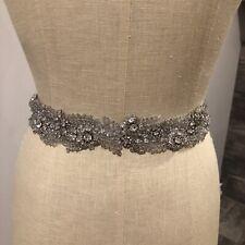 Gorgeous handmade Swarovski Bridal sash