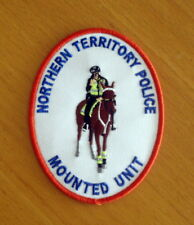 Northern Territory Police Mounted Unit Patch (social)