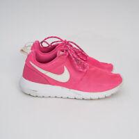 NIKE Roshe One Pink Blast White GS Sneakers Running Shoes Sz US 4Y 599729-611