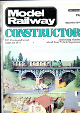 More details for  joblot 6 model railway constructor magazines from 1974 issues  vg cond
