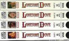 VHS: 4-VIDEO LONESOME DOVE MINI-SERIES.....TOMMY LEE JONES-ROBERT DUVALL