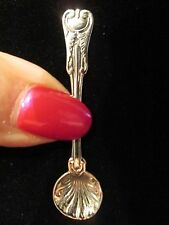 MAJESTIC ~ Sterling Silver SALT SPOON.. AUGUST AND SEPT SALE ITEM !!!!