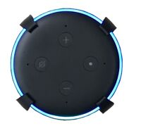 SturdyGrip™ Wall Mount / Ceiling Mount for Amazon Echo Dot 3rd Gen (Black)