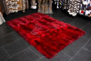 2360 Genuine Red Fox Fur Rug Wild Fur Real Canadian Fox Fur Carpet Wild Fur Rug
