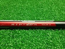 "NEW ALDILA TOUR ISSUED RIP'D NV 75 TOUR X TX DRIVER SHAFT 46"" UNCUT .335 335"