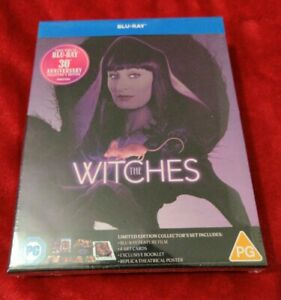 THE WITCHES 30th ANNIVERSARY LIMITED COLLECTORS EDITION BLU RAY NEW SEALED
