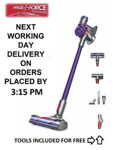 DYSON V7 Animal Cordless Purple Vacuum Cleaner Inc Tools + 2 Year Warranty [NEW]