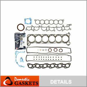 Full Gasket Set Fits JDM Nissan Skyline R32 R33 R34 RB25DE RB25DET 2.5L Turbo