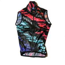 Women's 2017 Rapha Canyon/SRAM Team Cycling Wind Vest, Black, Size 2XS / 0 EUC