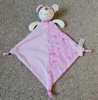 BNWT Next Pink Mouse Floral Spots Comforter Soft Baby Plush Toy Blanket Blankie