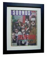 THE MISSION+POSTER+AD+FRAMED+OFFICIAL+SOUNDS+ORIGINAL 1989+EXPRESS GLOBAL SHIP