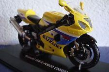 Suzuki GSX-R 600 gelb-blau  ( 2005 )     1:18