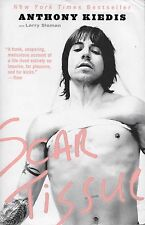 ANTHONY KIEDIS  Scar Tissue  large paperback book  RED HOT CHILI PEPPERS