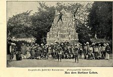 Hagenbecks Indische Karawane *  Bilddokument 1902