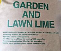 10 lbs DOLOMITE GARDEN LIME Powder Vegetable Gardens Lawns + Calcium Magnesium