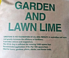10 lbs DOLOMITE GARDEN LIME Powder Vegetable Gardens 22% Calcium 12% Magnesium