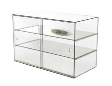 LARGE  ACRYLIC DISPLAY CABINET 58x33x40cm,5mm for CAKE BAKERY MUFFIN PASTRIES