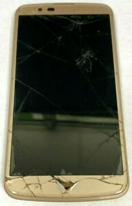 (NOT WORKING-FOR PART) LG K10 LGMS428 GOLD SMARTPHONE.