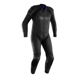 RST Podium Airbag Leather Suit - Colour Black/Black/Black - Size 50