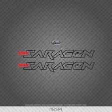 01294 Saracen Bicycle Stickers - Decals - Transfers