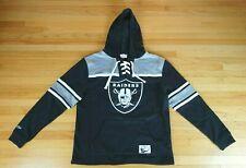 Oakland Raiders Mitchell & Ness NFL Football Hockey Hoodie Sweatshirt Size XL