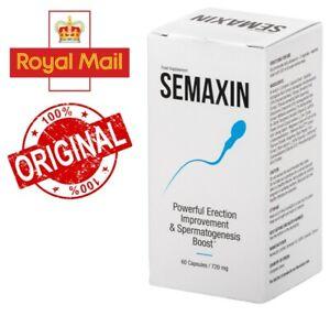 Semaxin - Powerful Erection Improvement & Spermatogenesis Boost