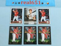 2010~2011 TODD FRAZIER Rookie-Prospect Lot x 6 RC | Topps #US270 Bowman | Mets