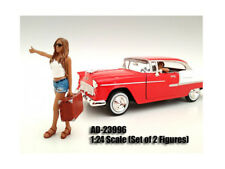 HITCHHIKER 2 PIECE FIGURE SET FOR 1/24 SCALE MODELS BY AMERICAN DIORAMA 23996