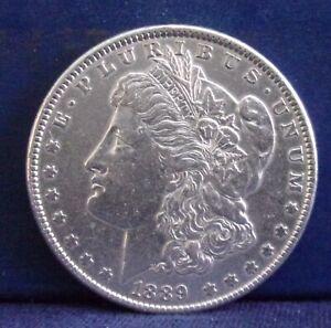 1889 $1 Morgan Silver Dollar   #1588