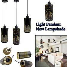 Retro Black Metal Pendant Lamp Shades Ceiling Light NewYork/Butterfly Skyline
