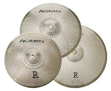 Agean Cymbals R-Series Low Noise Cymbal Pack Box Set (14HH/16CR/20R)
