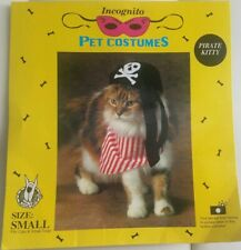 Small Dog Cat Pet Pirate Halloween Costume