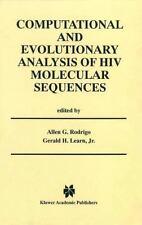 Computational and Evolutionary Analysis of HIV Molecular Sequences (2013,...