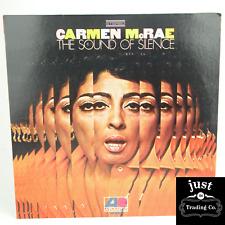 Carmen McRae – The Sound Of Silence 1968 Original lp SD 8200 - Jazz - EX/EX