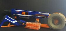 Nerf N-Strike Elite Rampage Blaster Rifle With Stock & Drum Clip & Darts
