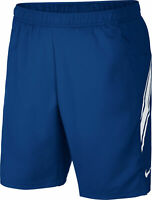 Nike Herren Tennisshort Trainingsshort Freizeitshort NKCT DRY Short 9 in blau