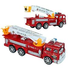 Fire Truck Large Fire Engine Vehicle Model + Ladder for Children Car Model Toys