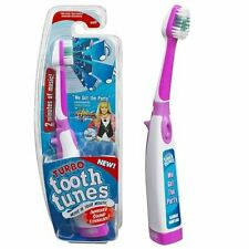 "Turbo Tooth Tunes Toothbrush Hannah Montana Sings ""WE GOT THE PARTY"" NEW SEALED"