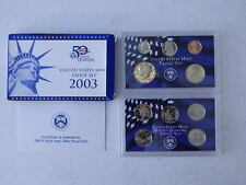 2003-S United States Mint Proof Set With Box And COA