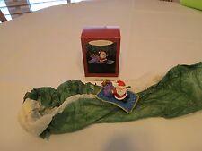 Hallmark Keepsake Magic Carpet Ride Ornament 1994 Christmas Santa RARE bag CROWN