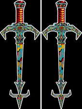 New Tutankham Swords Sideart Set( 2 pc set): Rare reproduction