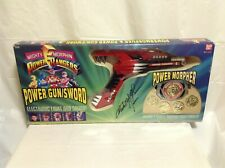 1993 Power Rangers Power Gun/Sword Morpher - Signed By Austin St. John - New