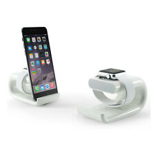 2in1 Acrylic Desk Stand Charge Dock Station 4 iPhone 8 X 7 Samsung S8 S9+ iWatch