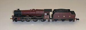 Farish (372-480) Class 6P Jubilee 4-6-0 5664 'Nelson' in LMS Crimson - DCC Ready
