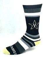 For Bare Feet Vanderbilt Rainbow Stripe Crew Socks