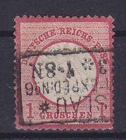 Brustschild Mi Nr. 19 mit R3 Breslau 1873 gest., Deutsches Reich