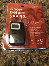 New! Vivo Instant Blood Alcohol Level Breathalizer(Digital Reading)Sealed