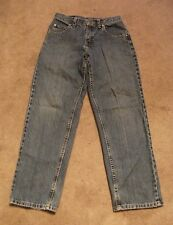 VGUC~Kid's Lee Blue Jeans~Size 14R~100% Cotton~Adjustable Waistband